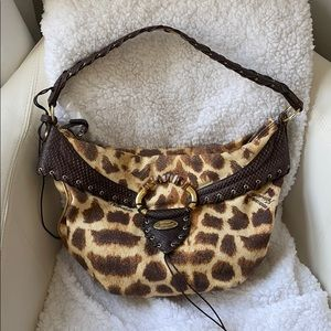 Roberto Cavalli Freedom leopard bag